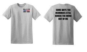 US Army Veteran Cotton T-Shirt -Wind-(P)