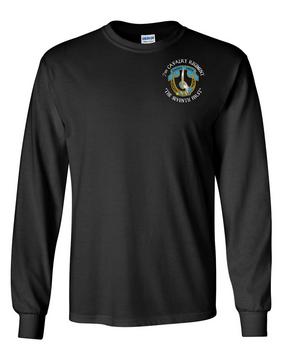 7th Cavalry Regiment Long-Sleeve Cotton Shirt  -Pocket (C)