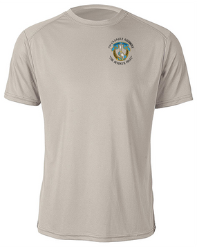 7th Cavalry Regiment Moisture Wick Shirt  -Pocket (C)