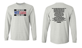 US Marine Corps Veteran Long-Sleeve Cotton Shirt  -Marine- (FF)
