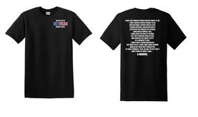 US Marine Corps Veteran Cotton T-Shirt -Marine-(P)