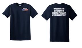 US Coast Guard Veteran Cotton Shirt- Fought- (P)