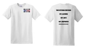 US Coast Guard Veteran Cotton Shirt- Hate- (P)