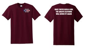 US Coast Guard Veteran Cotton Shirt- Lion- (P)
