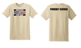 US Coast Guard Veteran Cotton Shirt-Proudly- (FF)