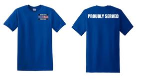 US Coast Guard Veteran Cotton Shirt-Proudly- (P)