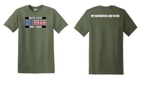 US Coast Guard Veteran Cotton Shirt-Recruiter- (FF)