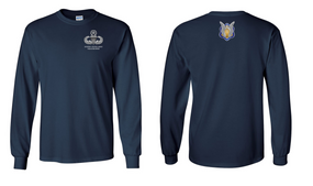 1-17th Cavalry (Crest) Master Paratrooper Long-Sleeve Cotton Shirt