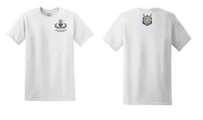 1-17th Cavalry (Crest) Master Paratrooper Cotton Shirt