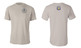 1-17th Cavalry (Crest) US Army Jumpmaster Moisture Wick Shirt