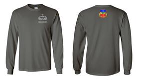 3-73rd Armor Senior Jumpmaster Long-Sleeve Cotton Shirt