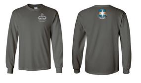 313th MI Battalion Master Paratrooper Long-Sleeve Cotton Shirt