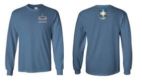 313th MI Battalion Senior Jumpmaster Long-Sleeve Cotton Shirt