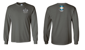 313th MI Battalion Senior Paratrooper Long-Sleeve Cotton Shirt