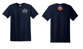 3-73rd Armor Senior Jumpmaster Cotton Shirt