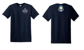313th MI Battalion Master Paratrooper Cotton Shirt