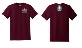 313th MI Battalion Senior Jumpmaster Cotton Shirt