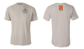 319th Airborne Field Artillery Master Blaster Moisture Wick Shirt