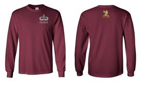 407th Brigade Support Battalion Senior Jumpmaster Long-Sleeve Cotton Shirt
