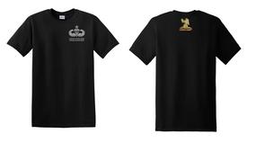 407th Brigade Support Battalion Senior Jumpmaster Cotton Shirt