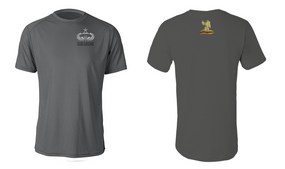 407th Brigade Support Battalion Senior Jumpmaster Moisture Wick Shirt