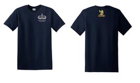 407th Brigade Support Battalion Senior Paratrooper Cotton Shirt