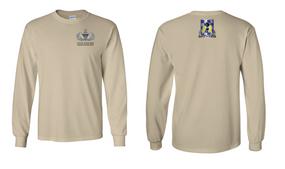 82nd Aviation Brigade Senior Jumpmaster Long-Sleeve Cotton Shirt