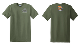82nd Signal Battalion Master Paratrooper Cotton Shirt