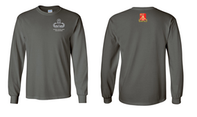 782nd Maintenance Battalion Master Paratrooper Long-Sleeve Cotton Shirt