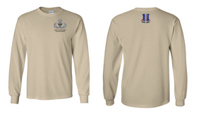 187th Regimental Combat Team Master Blaster Long-Sleeve Cotton Shirt