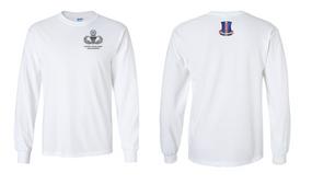 187th Regimental Combat Team Master Paratrooper Long-Sleeve Cotton Shirt