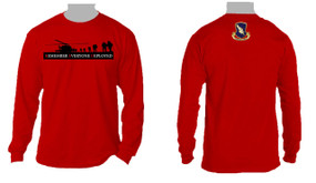 RED - Remember Everyone Deployed (504)  Long-Sleeve Cotton T-Shirt