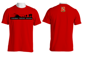 RED - Remember Everyone Deployed (319)  Cotton T-Shirt