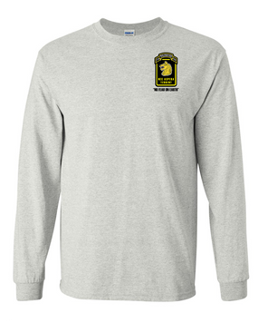 27th Infantry Regiment Wolfhounds LS  Cotton Shirt (P)