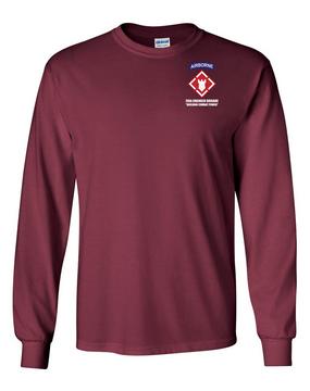 20th Engineer Brigade (Airborne) LS Cotton Shirt (P)