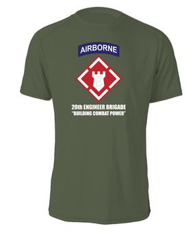 20th Engineer Brigade (Airborne) Cotton Shirt (FF)