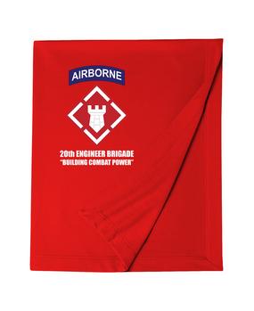 20th Engineer Brigade (Airborne) Dryblend Stadium Blanket