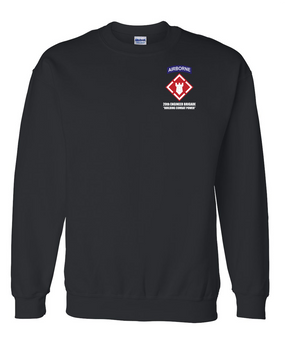 20th Engineer Brigade (Airborne) Embroidered Sweatshirt