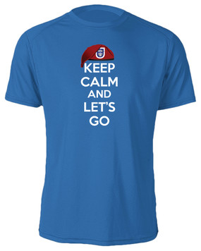 "1/325th Airborne Infantry Regiment ""Keep Calm"" Cotton Shirt"