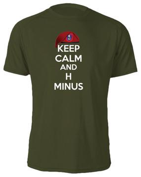 """3/505th Parachute Infantry Regiment """"Keep Calm"""" Cotton Shirt"""