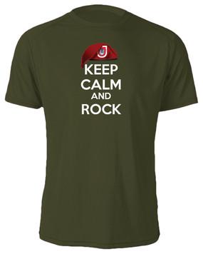 "2/503rd Parachute Infantry Regiment  ""Keep Calm"" Cotton Shirt"