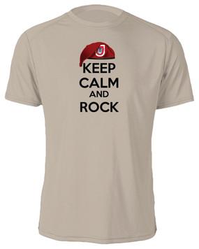 "3/503rd Parachute Infantry Regiment  ""Keep Calm"" Cotton Shirt"