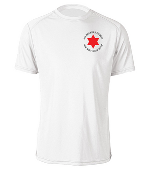 6th Infantry Division Moisture Wick T-Shirt (P) (C)