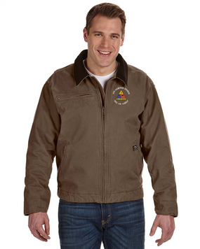 2nd Armored Division Embroidered DRI-DUCK Outlaw Jacket