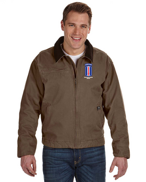 193rd Infantry Brigade (Airborne)  Embroidered DRI-DUCK Outlaw Jacket