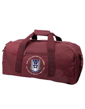 503rd Parachute Infantry Regiment Embroidered Duffel Bag-Crest