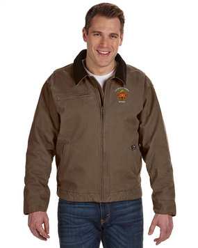 "9th Infantry Regiment ""MANCHUS"" Embroidered DRI-DUCK Outlaw Jacket"
