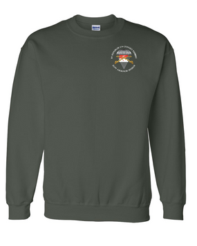 1/17th Guidon Cavalry Embroidered Sweatshirt-M