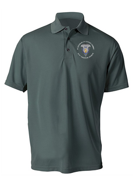 1/17th Cavalry Embroidered Moisture Wick Shirt-M