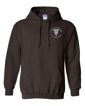 1/17th Cavalry Embroidered Hooded Sweatshirt-M